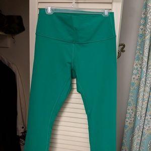 Lululemon high times 7/8 leggings